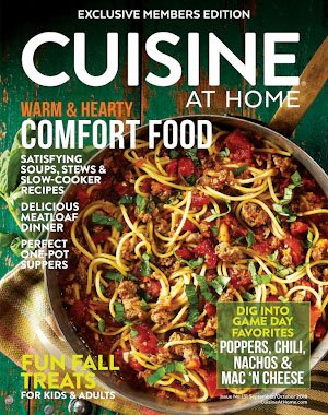 Cuisine at Home – September 2018
