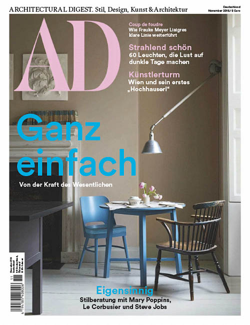 AD Architectural Digest Germany - November 2018