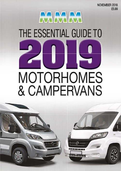 MMM – November 2018 Guide to 2019 Motorhomes & Campervans