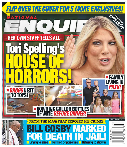 National Enquirer - October 15, 2018