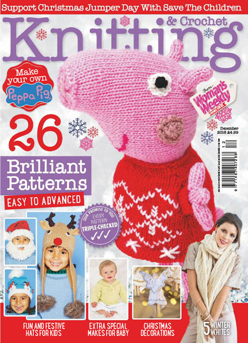Knitting & Crochet from Woman's Weekly - December 2018