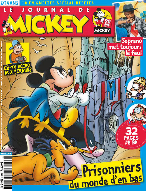 Le Journal de Mickey - 21 Novembre 2018