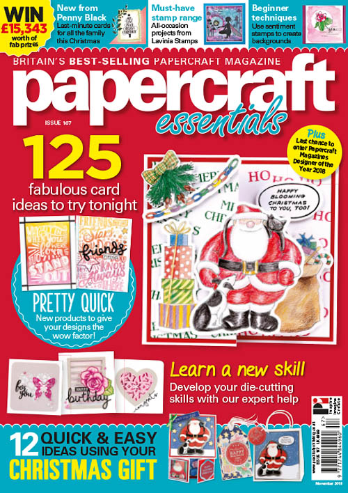 Papercraft Essentials – November 2018
