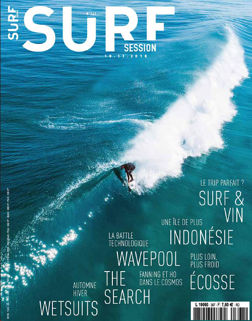 Surf Session N°367 - Octobre 2018