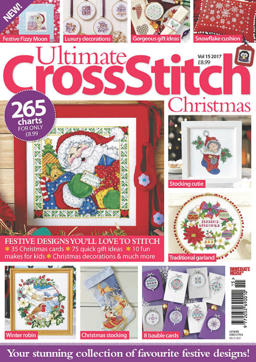 Ultimate Cross Stitch Christmas – August 2017