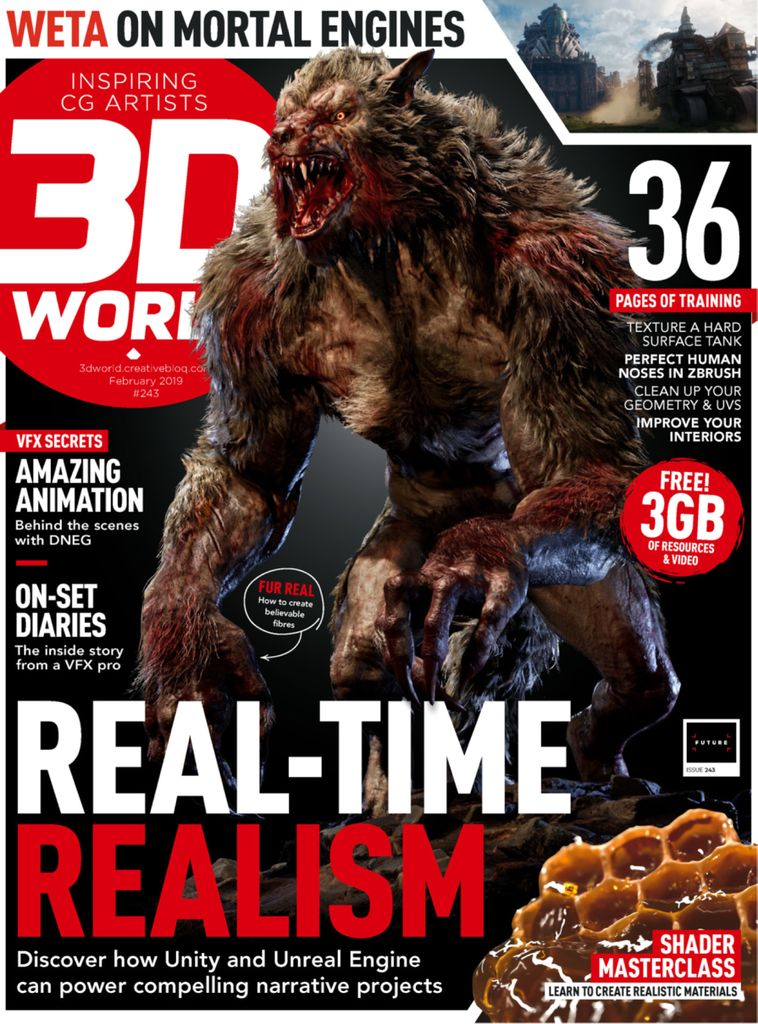 3D World UK - February 2019
