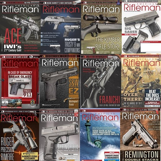 American Rifleman - Full Year 2018 Collection