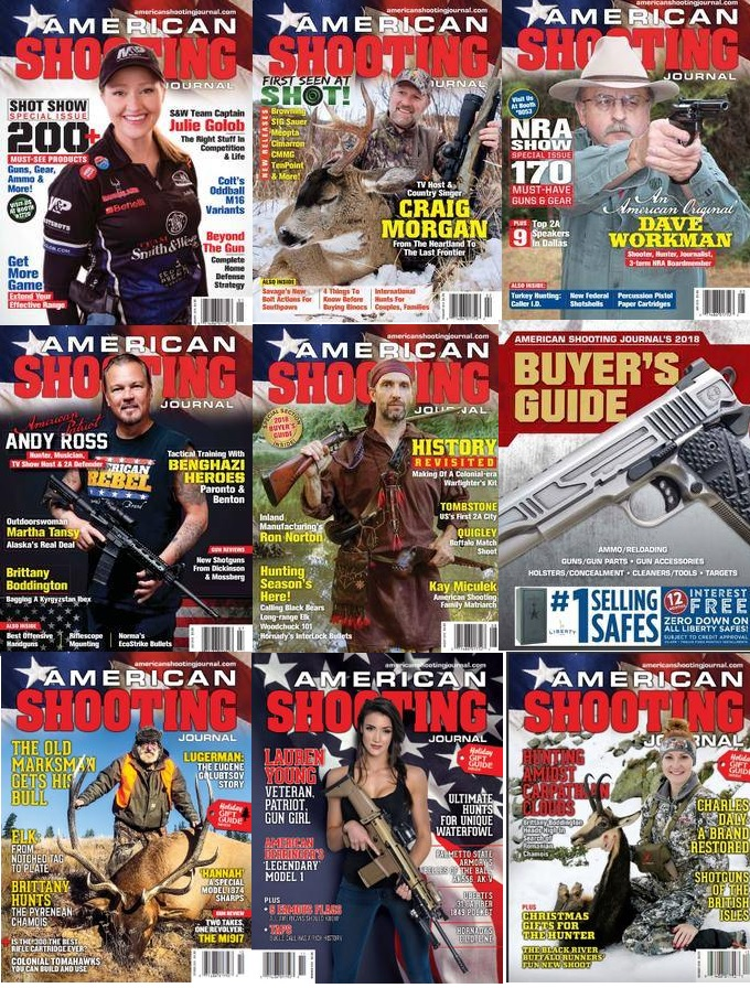 American Shooting Journal - Full Year 2018 Collection