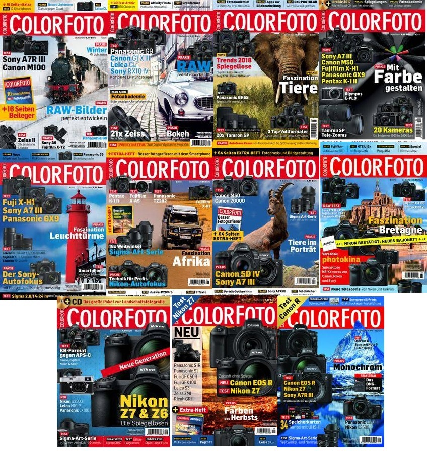 ColorFoto - Full Year 2018 Collection