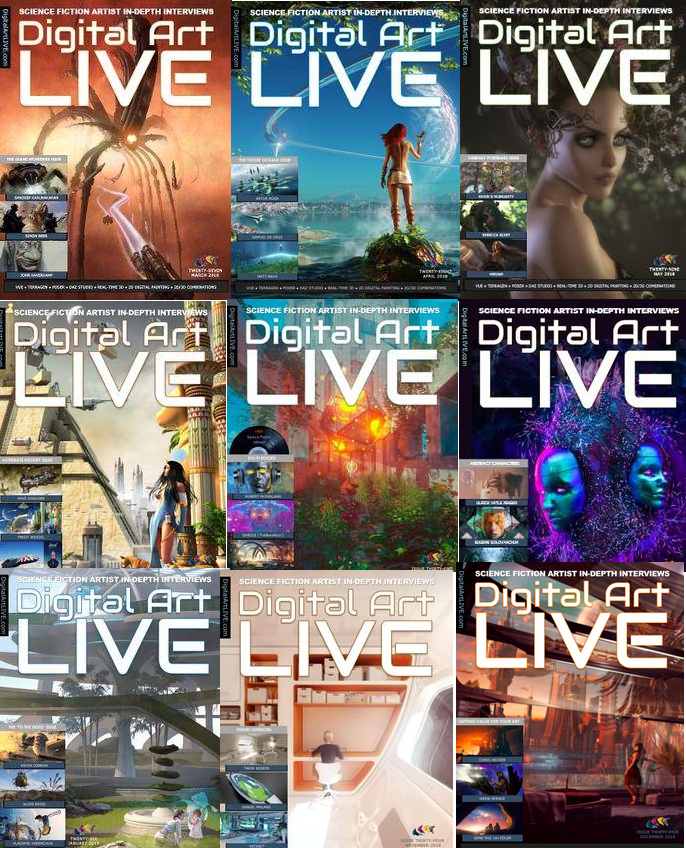 Digital Art Live - Full Year 2018 Collection
