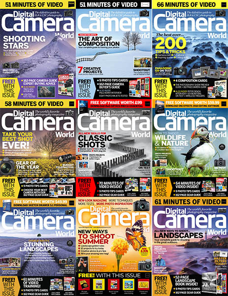 Digital Camera World - Full Year 2018 Collection