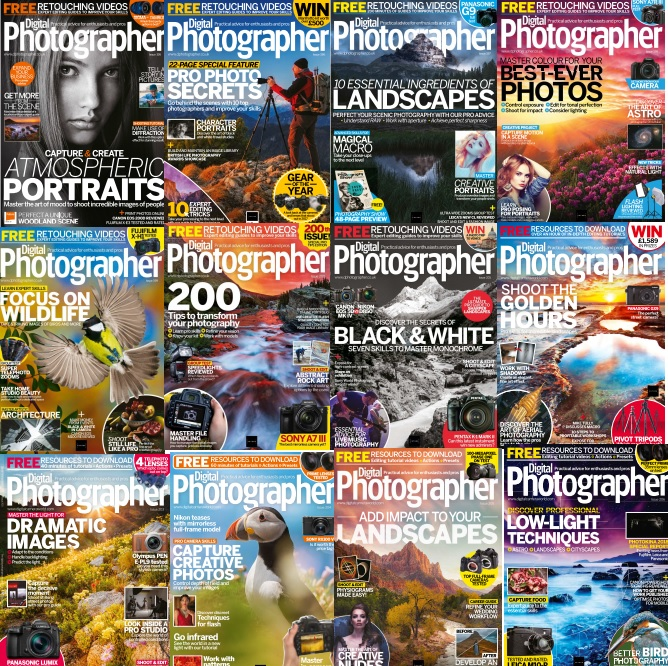 Digital Photographer -  Full Year 2018 Collection