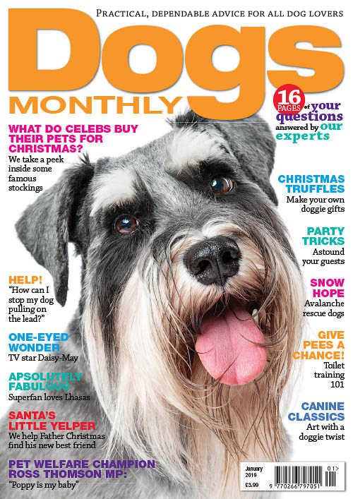 Dogs Monthly – January 2019