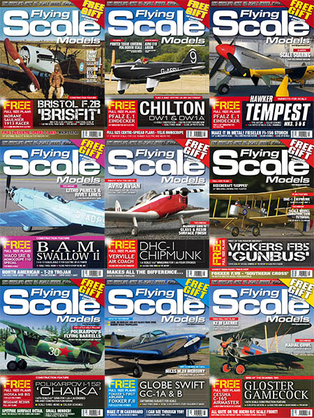 Flying Scale Models - Full Year 2018 Collection