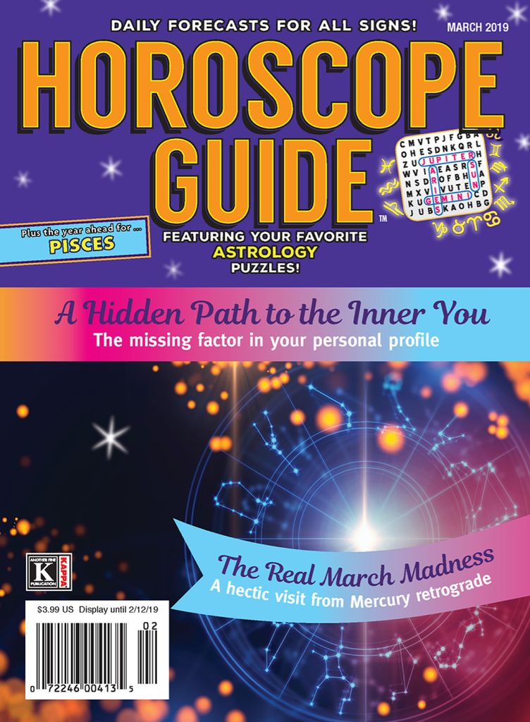 Horoscope Guide - March 2019