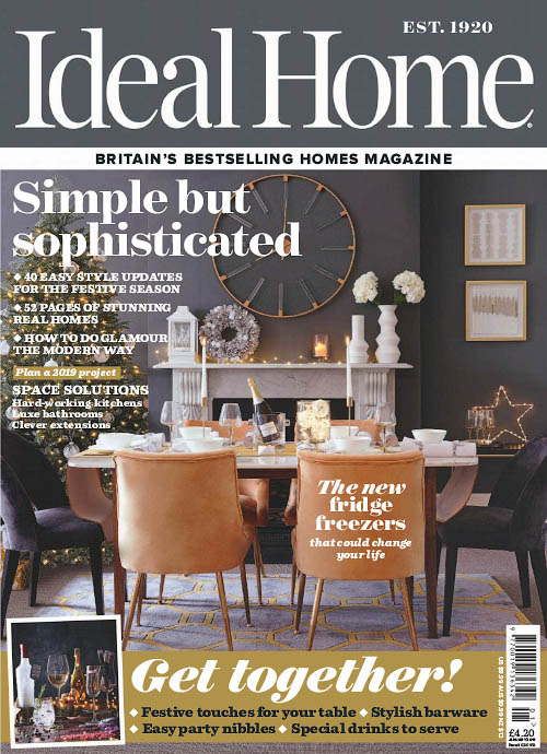 Ideal Home UK - January 2019