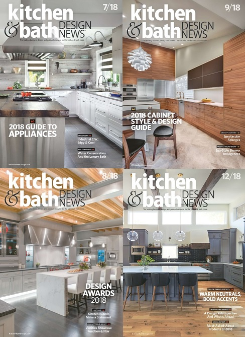 Kitchen & Bath Design News - 2018 Full Year Collection