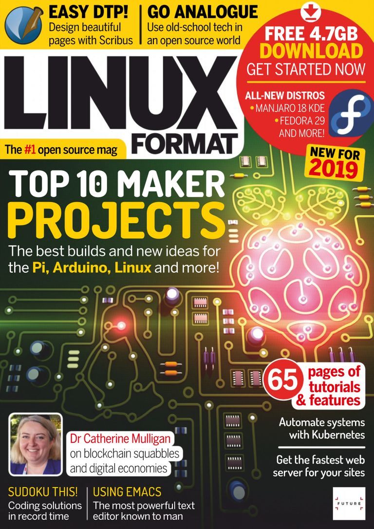 Linux Format UK - January 2019