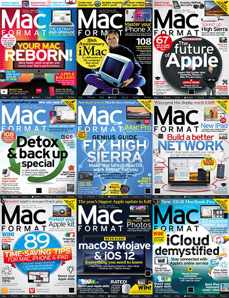 MacFormat UK - Full Year 2018 Collection