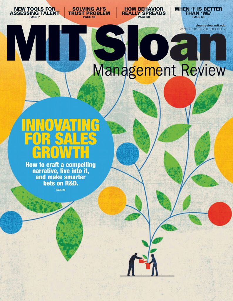 MIT Sloan Management Review - January 2019