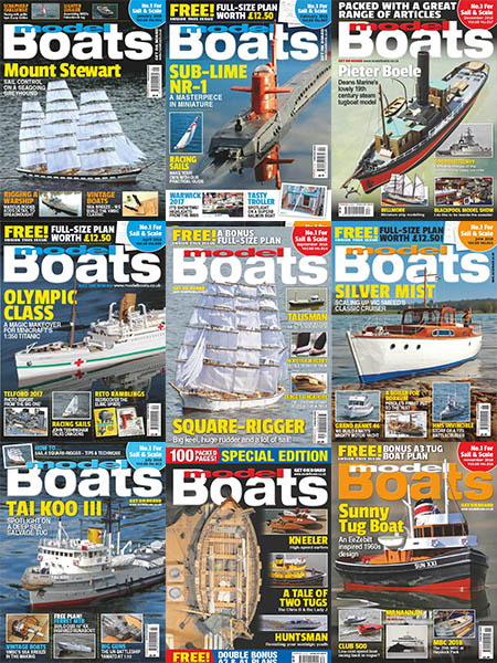 Model Boats - Full Year 2018 Collection