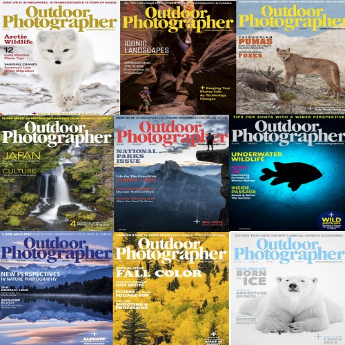 Outdoor Photographer - Full Year 2018 Collection