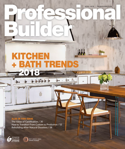 Professional Builder - April 2018