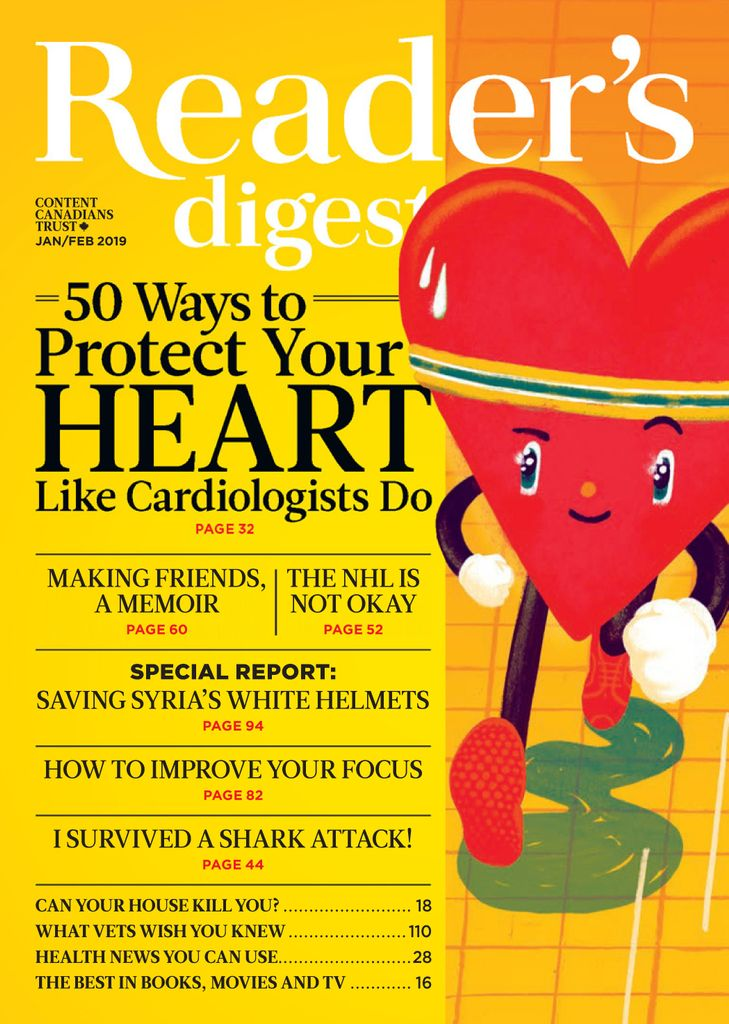 Reader's Digest Canada - January 2019