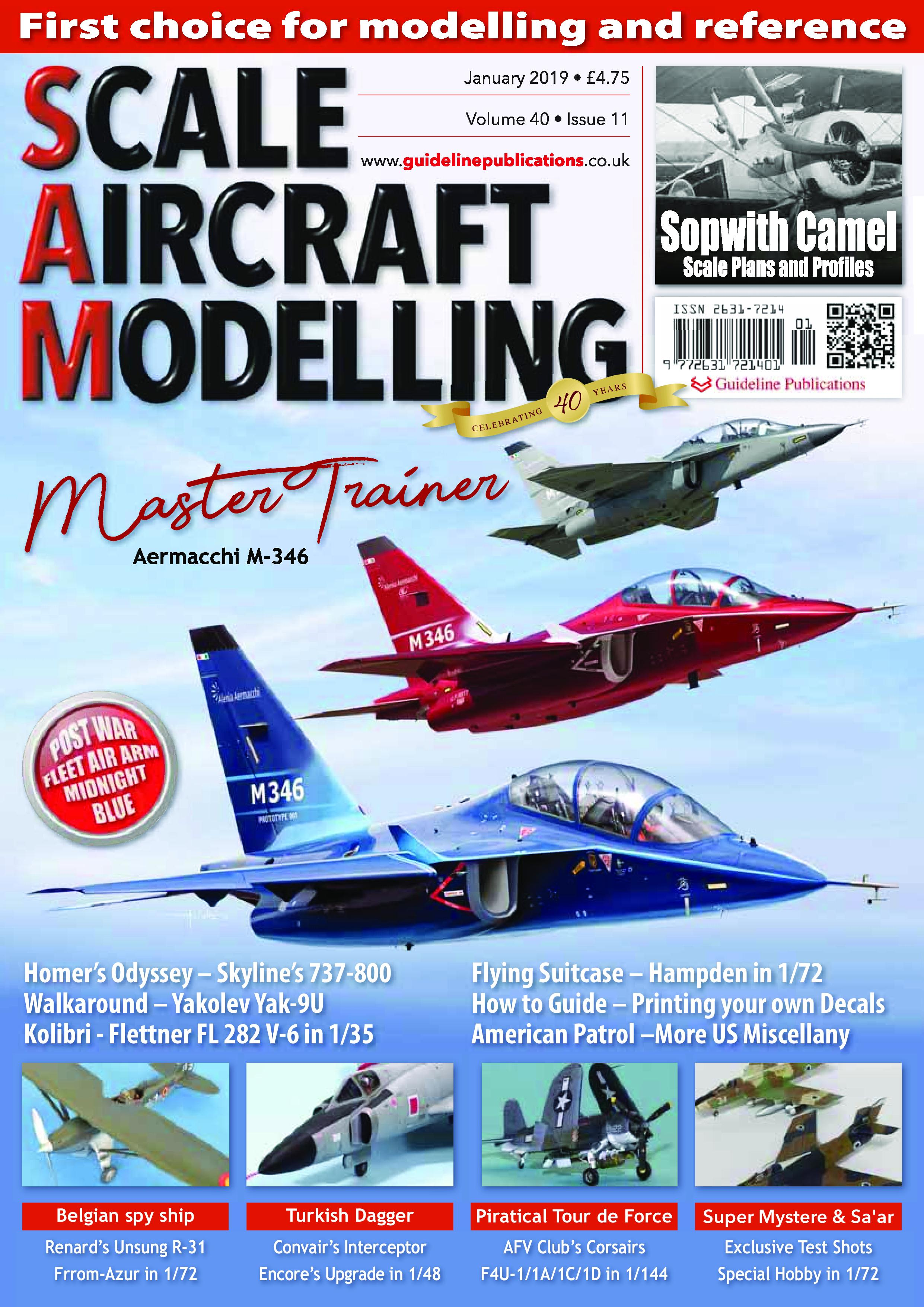 Scale Aircraft Modelling International – January 2019