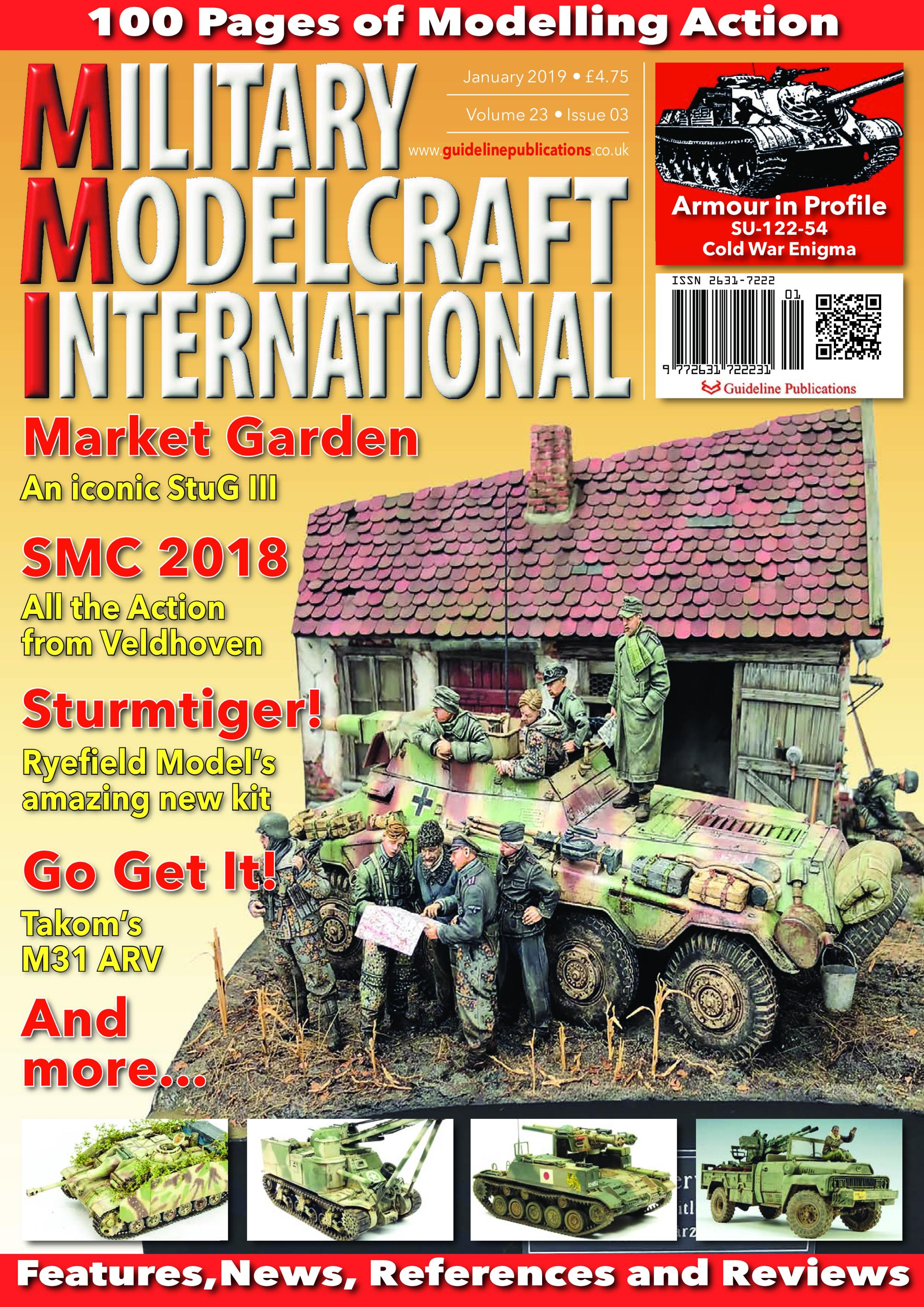 Scale Military Modelcraft International – January 2019