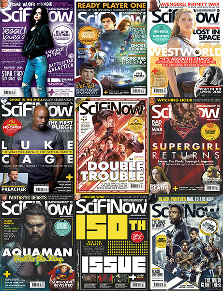 SciFiNow - Full Year 2018 Collection