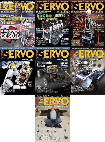 Servo - Full Year 2018 Collection