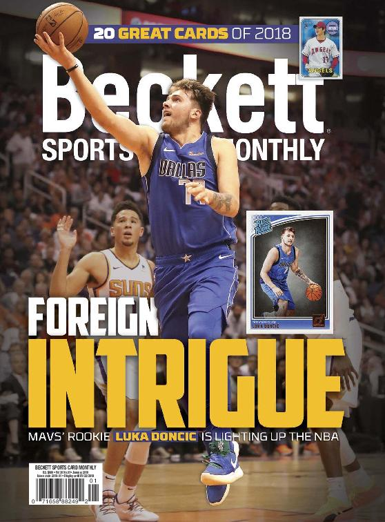 Sports Card Monthly – January 2019