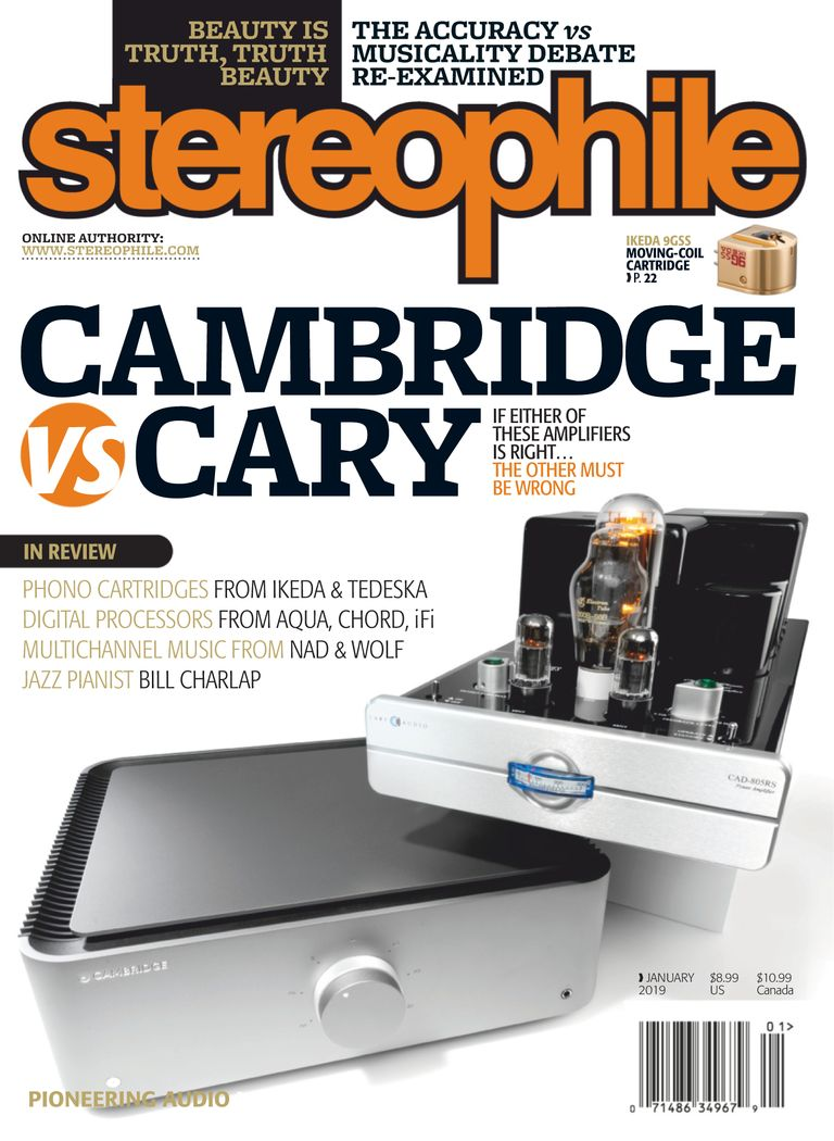 Stereophile - January 2019