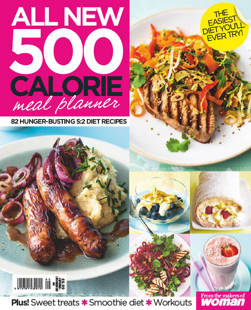 Woman Special Series - 500 Calorie Meal Planner 2018