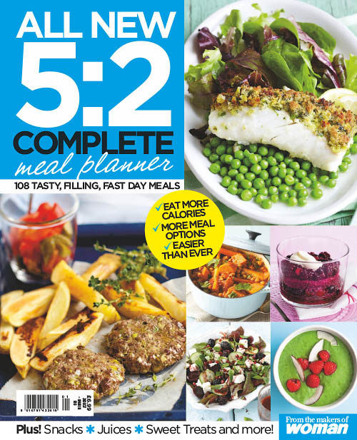 Woman Special Series - 5:2 Complete Meal Planner 2018