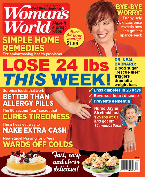 Woman's World USA - October 8, 2018
