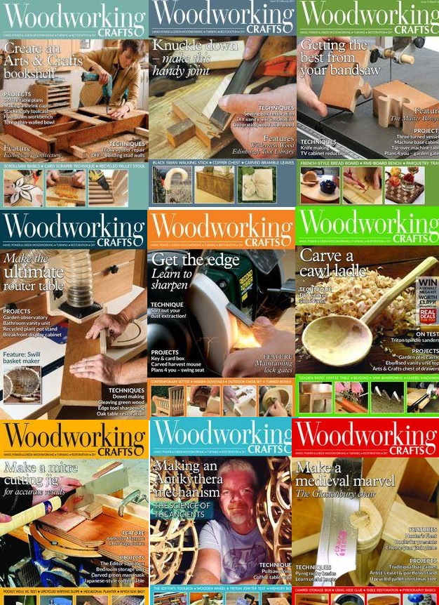 Woodworking Crafts - Full Year 2018 Collection