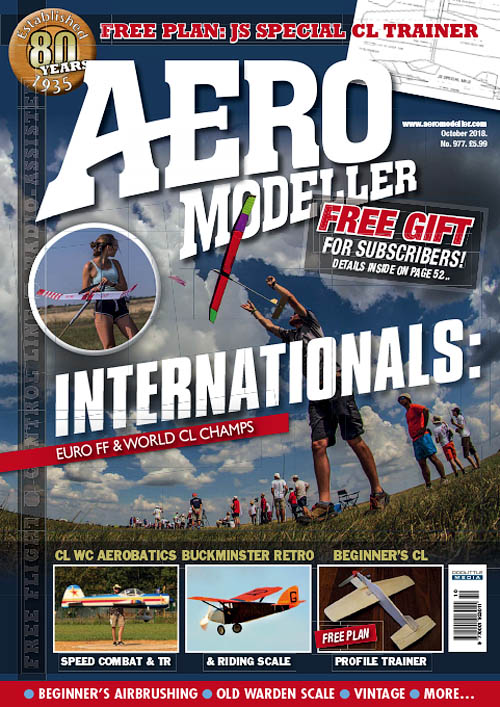 AeroModeller – October 2018
