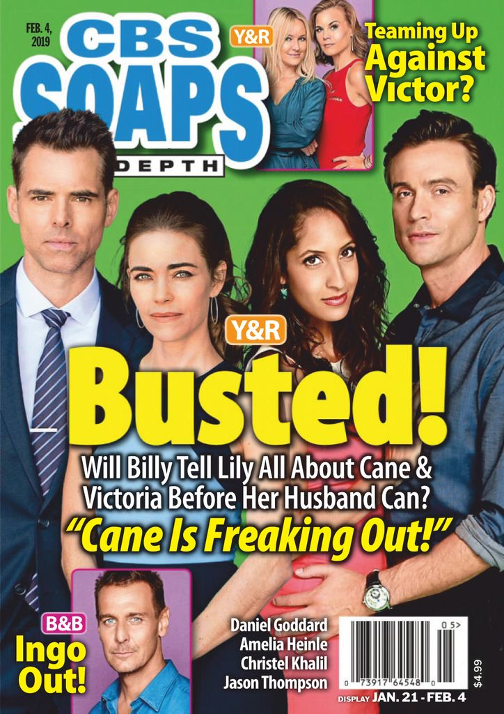 CBS Soaps In Depth - February 04, 2019