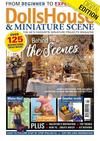 Dolls House and Miniature Scene - Issue 297 - February 2019