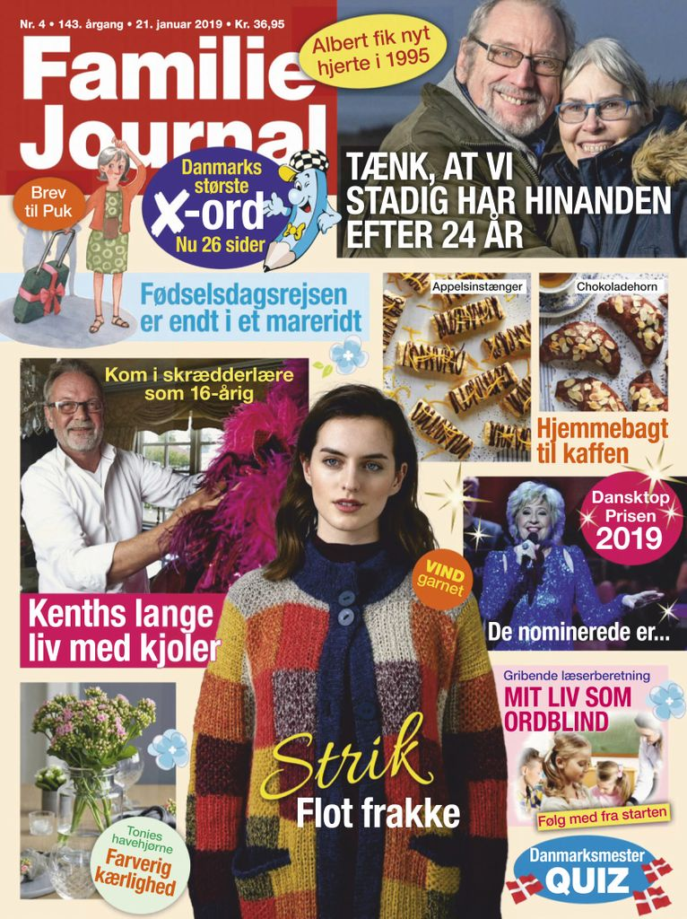 Familie Journal – 21. januar 2019