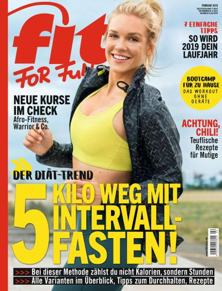 Fit For Fun - Februar 2019