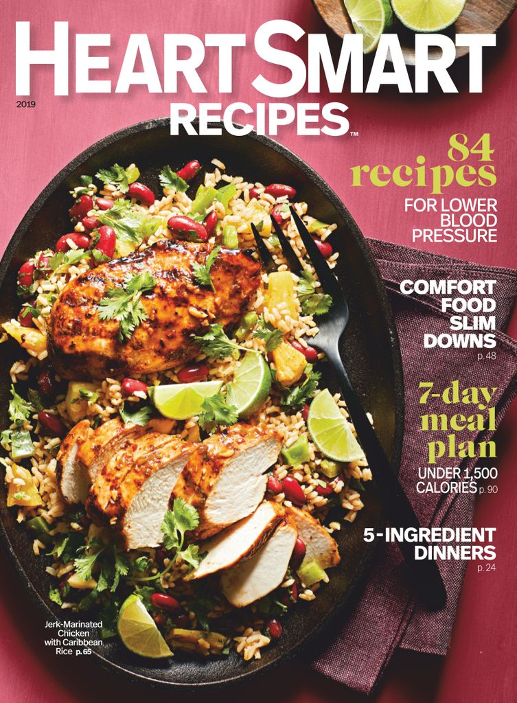 Heart-Smart Recipes – January 2019