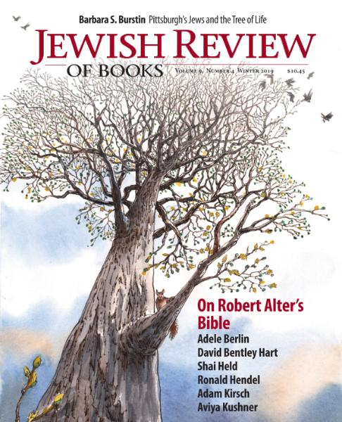 Jewish Review of Books - Winter 2019