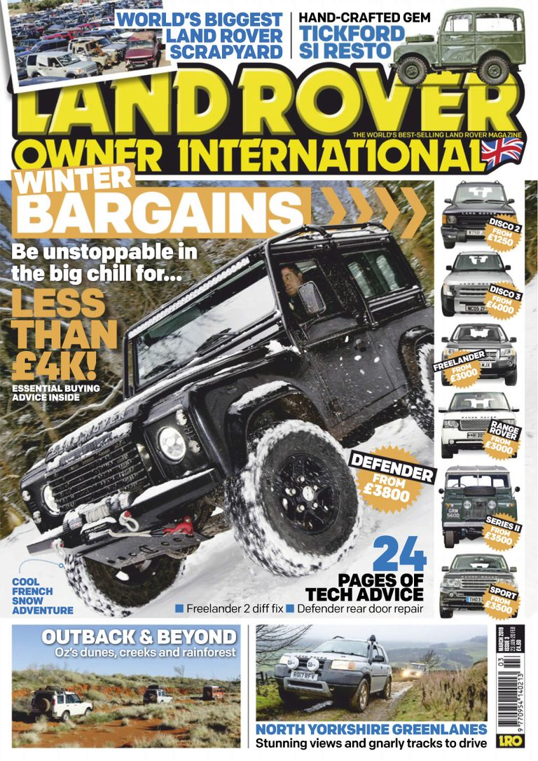 Land Rover Owner - March 2019