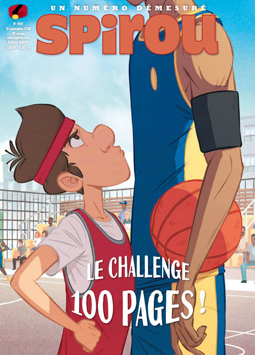Le Journal de Spirou - 19 Septembre 2018