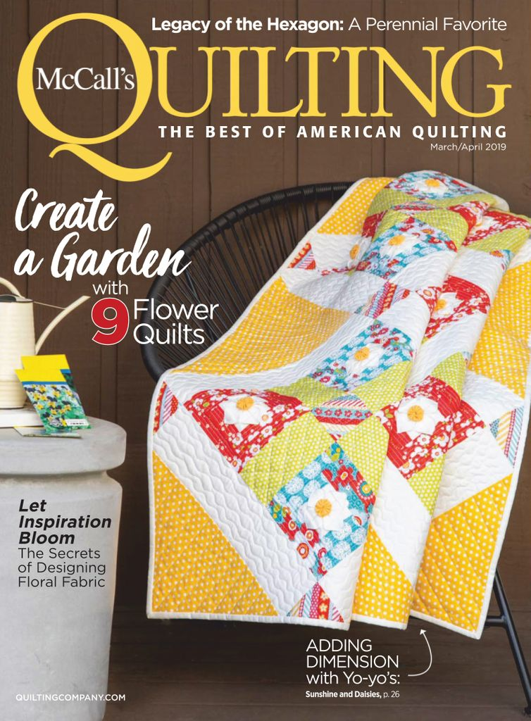 McCall's Quilting – March/April 2019