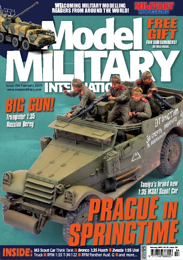 Military Modelling – January 2019