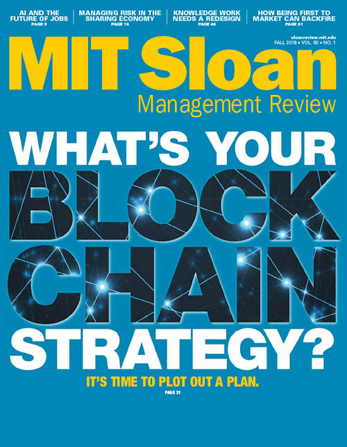 MIT Sloan Management Review - September 2018